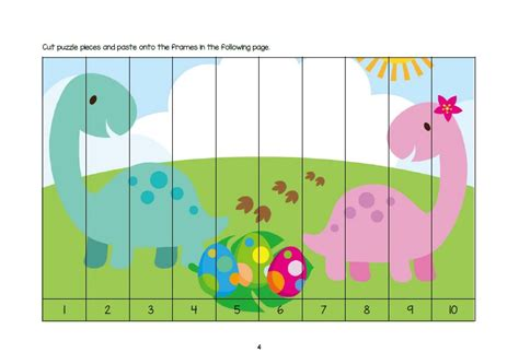 printable dinosaur puzzle dinosaur activity sheets for 3 5 years old free