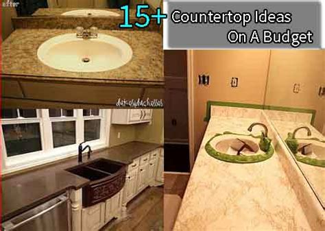 kitchen countertop ideas on a budget kitchen backsplash