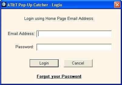 log into at t mail images