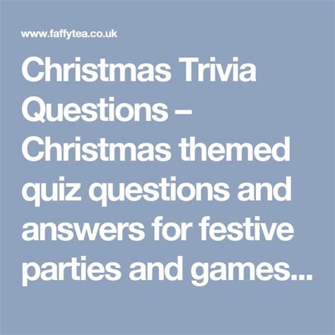 christmas themed quiz questions 17 best ideas about quiz questions and answers on