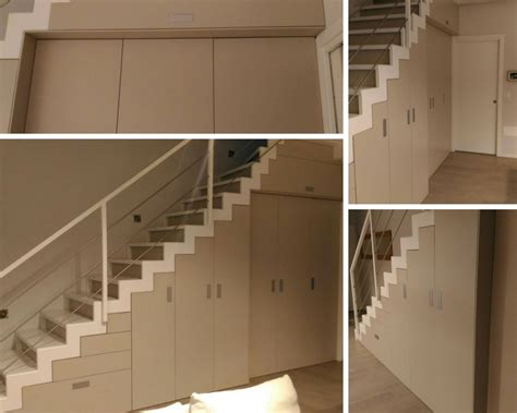armadio sottoscala armadi per sottoscala recuperare spazio con armadio
