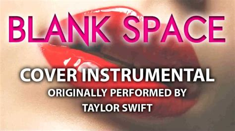 blank space cover instrumental in the style of