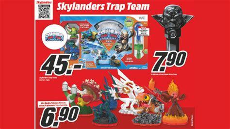 3ds Skylanders Trap Team Starter Set media markt prospekt zum 26 m 228 rz 2015 bilder