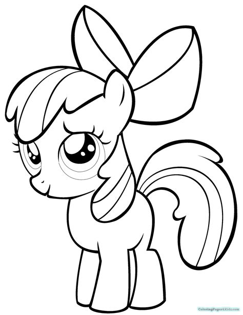 my little pony granny smith coloring pages my little pony printable coloring pages apple bloom
