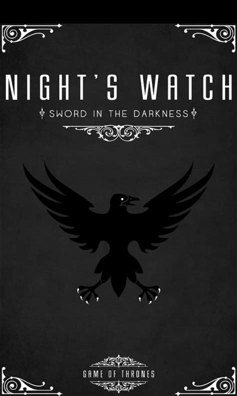 game of thrones night s watch wallpaper game of thrones game of and the night watch on pinterest