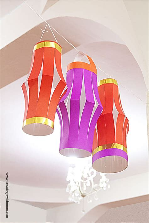 chinese style diy paper lanterns  perfect party