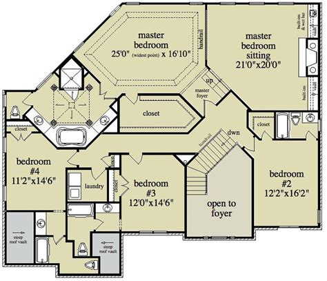 english house floor plans 5 bedroom 4 bath english country house plan alp 096b