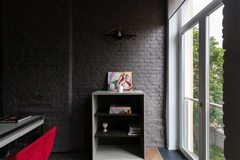 contemporary style  historical building bricks arched