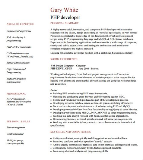 sle resume php developer fresher resume ixiplay free resume sles
