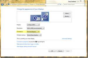 Computer Desktop Rotate Rotate Your Computer Screen In Windows 7 Switch From