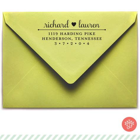 should wedding invitations a return address send a letter or invitation in style with your own personalized return address st the