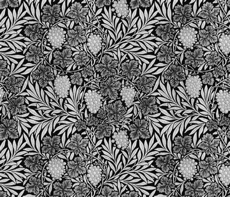jungle pattern black and white william morris jungle vines black and silver wallpaper