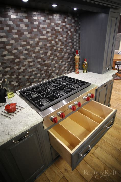 custom kitchen cabinet drawers designing custom kitchen cabinet drawers kountry kraft