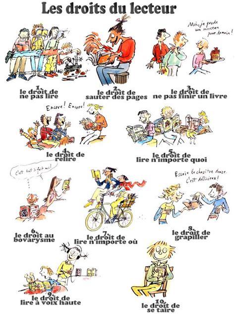 libro le droit la les droits du lecteur daniel pennac le magazine en ligne de la fondation litt 233 raire fleur de lys