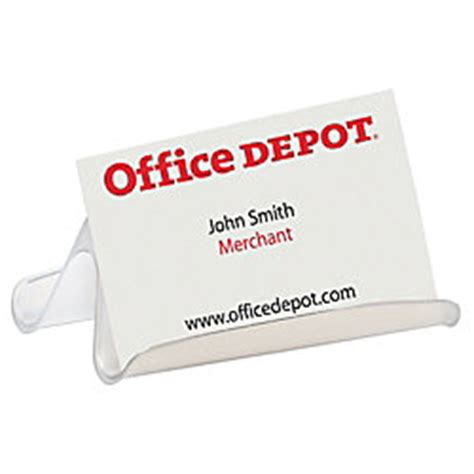 Office Depot For Business office depot brand business card holder clear by office