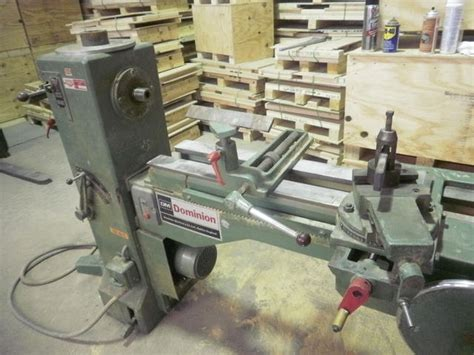 pattern making lathe dominion pattern makers lathe canadian woodworking and