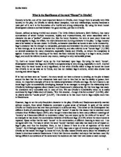 Deceit In Hamlet Essay by Deception Othello Essay Free Othello Essays And Papers 123helpme