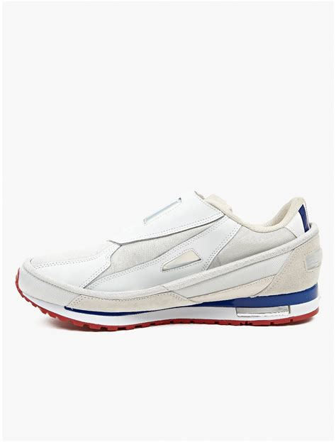 adidas by raf simons mens white rising 2 sneakers in white for lyst
