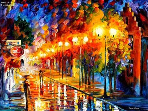 10 lukisan abstrak terindah leonid afremov panorama