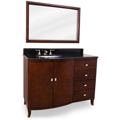 jeffrey alexander bathroom vanities hardware resources shop van067 48 vanity mahogany