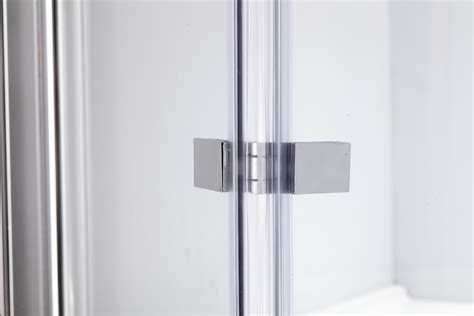 Folding Shower Door Parts 3 Fold Chrome Folding Bath Shower Screen Door Panel 1300mm X 1400mm