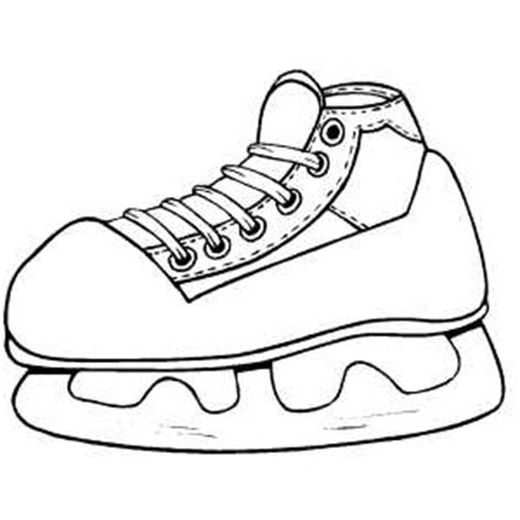 hockey skates coloring pages ice hockey skate coloring sheet