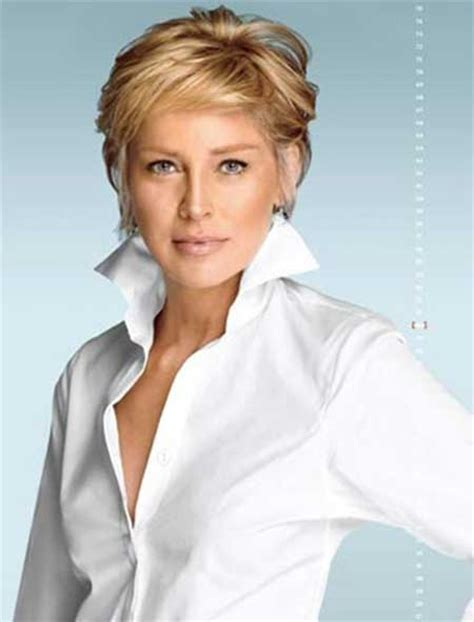 sharon stone most recent hairstyle the gallery for gt sharon stone short hair 2013
