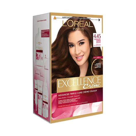 Sho L Oreal Di Indonesia warna cat rambut loreal excellence cats