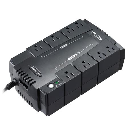 Batery Ups 8 outlet ups battery backup power surge protector computer