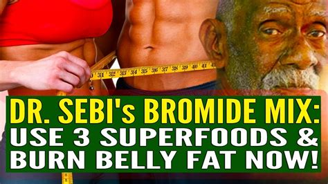 How To Detox Bromide From Your by The Detox Weight Loss Shake Dr Sebi S Bromide Mix Use