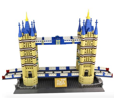 Lego Wange City Building 26073n it s not lego wange 8013 tower bridge