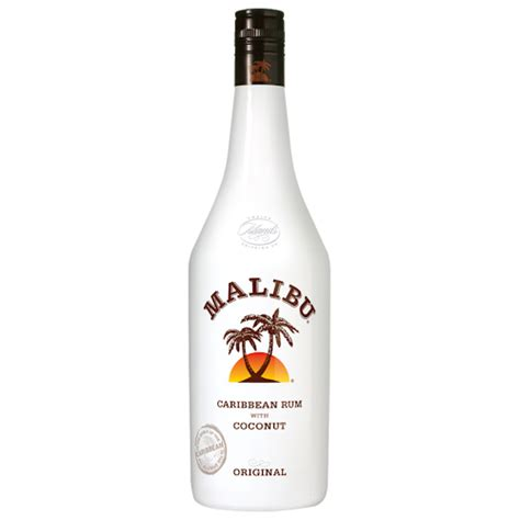 Mixing Light And Liquor by Malibu Caribbean Rum 1 Litre And Carry