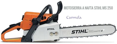 cadena para motosierra ms 250 motosierra a nafta stihl ms 250 barraca carmela