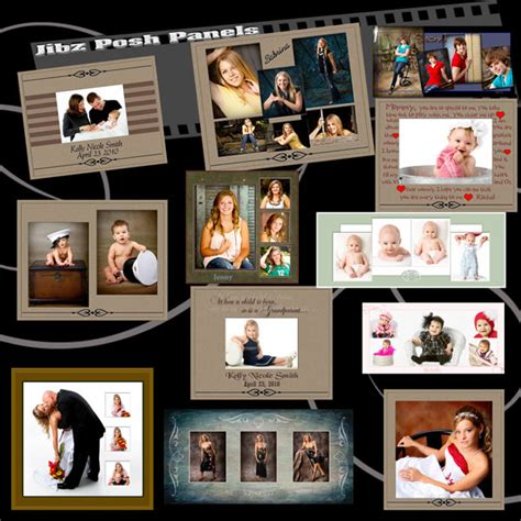 Wedding Photo Album Horizontal Brochure Template by 15 Simple Collage Template Psd Images Collage Templates