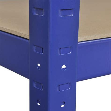 scaffale magazzino articoli per vidaxl scaffale da magazzino 2 pz 90x40x180