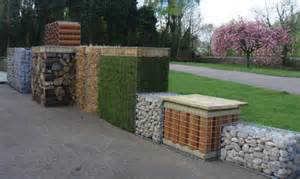 Small Wood Planter Box by Gabion Cages Available At Small Loads So Magazines