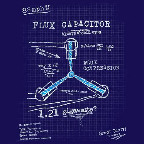 build your own flux capacitor nerdoh news quality t shirts