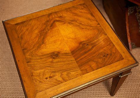 Vintage Baker Furniture by Vintage Baker Furniture Fruitwood Side Table At 1stdibs