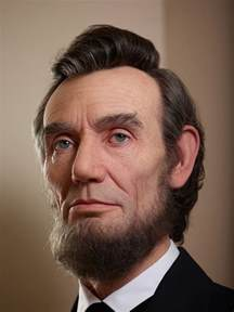 what color was abraham lincoln shockingly realistic sculpture portrays abraham lincoln