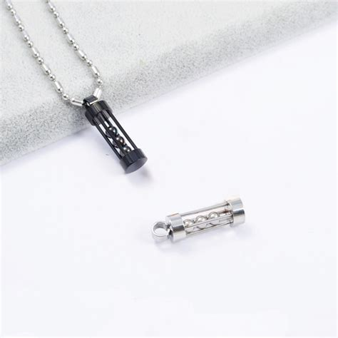 Kalung Baja Putih Anti Karat 4mm kalung longlong necklace cincin titanium