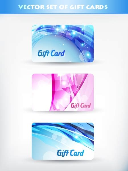 Fancy Gift Card - fancy gift card template vector flow lines free vector in encapsulated postscript eps