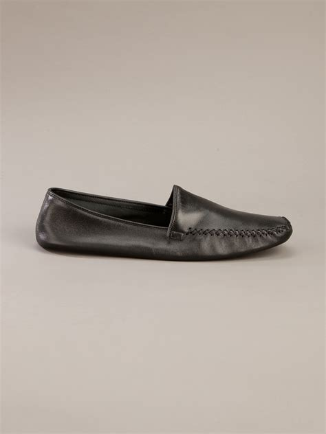 church s slippers church s leather slipper in black for lyst