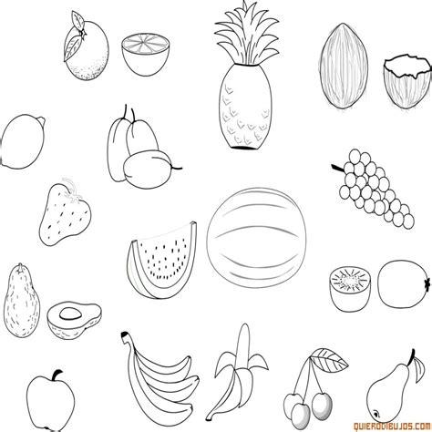 imagenes para colorear verduras y frutas dibujos de frutas y verduras para colorear e imprimir