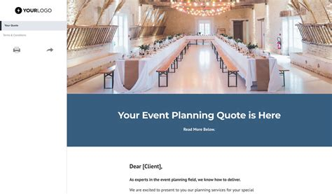 wedding decoration quotation sle 91 event planning quote template event planning quote