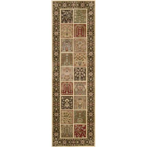 nourison overstock brentwood multicolor 2 ft 3 in x 7 ft