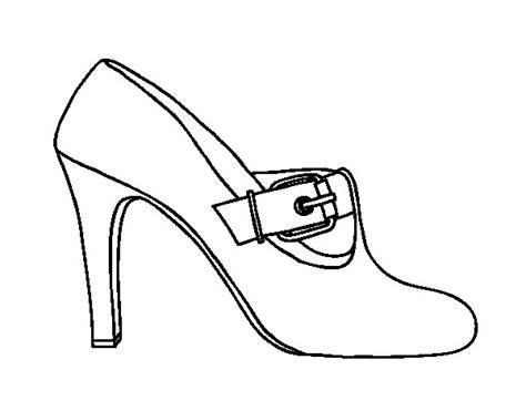 imagenes para niños de zapatos dibujo de zapatos elegantes para colorear dibujos net
