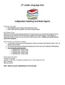 Book Reports For Seventh Graders by How To Write A Book Review 7th Grade Introduction Of Essay Sle