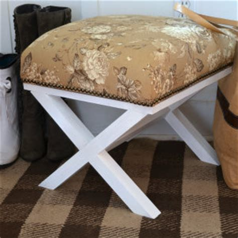 do it yourself ottoman do it yourself x leg ottoman home stories a to z