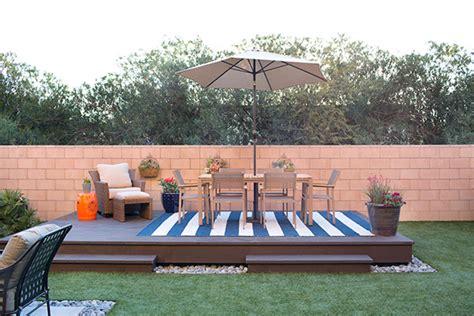 how to build a backyard deck rainguard