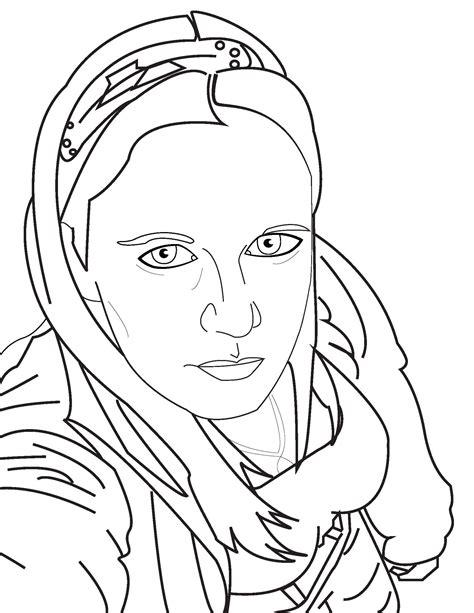 Self Portrait Lineart By Sparklingkajhit On Deviantart Self Portrait Coloring Page